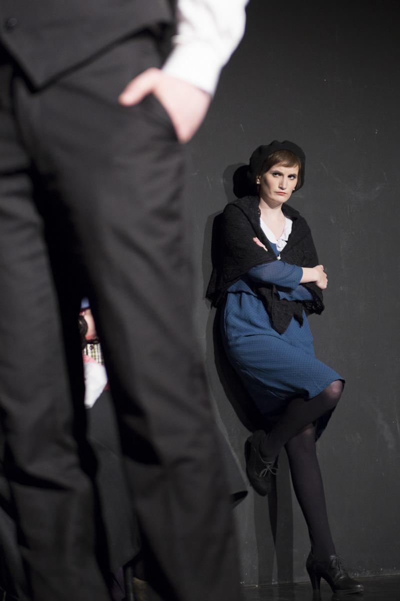 """Die Stieftochter in """"6 Personen suchen einen Autor"""" von Luigi Pirandello"""