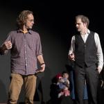 """Ein Schauspieler mit dem Vater in """"6 Personen suchen einen Autor"""" von Luigi Pirandello"""