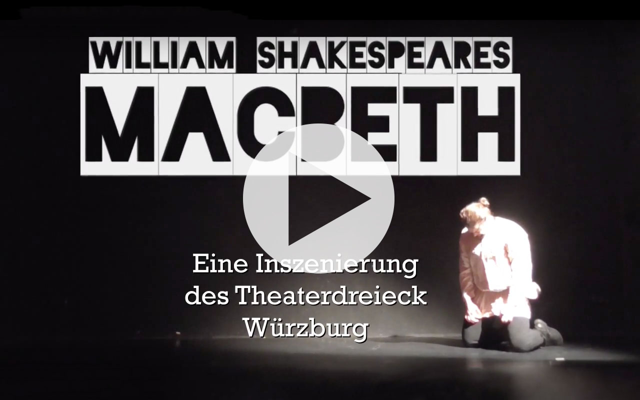 Bild Trailer MacBeth - theraderb dreieck würzburg