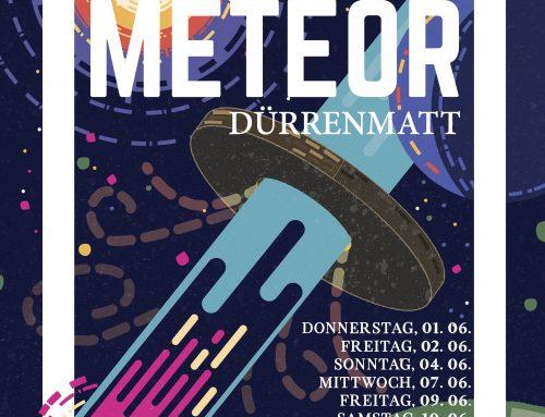 Der Meteor – Das Plakat