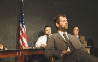 Oppenheimer vor dem Ausschuss der Atomenergiekomission